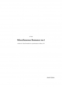 Miscellaneous romance no.1